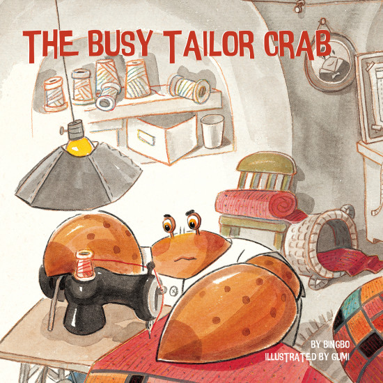The Busy Tailor Crab